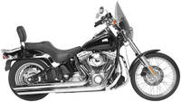 Rush Long Series Chrome Slast-Cut Exhaust System