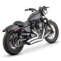 Vance & Hines Big Radius 2-into-2 Chrome Exhaust