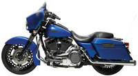 "Bassani ""Covington Hot Rod True-Dual"" Crossover Head Pipes and Mufflers"