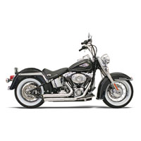 Bassani Firesweep Chrome Exhaust System with Turn Out Ends