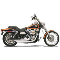 Bassani FireFlight Chrome Exhaust System with Slash-cut Ends