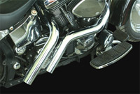 LA Choppers 187 Style Straight Cut Exhaust