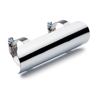 Cobra 2-1/4″ Diameter Chrome Heat Shield