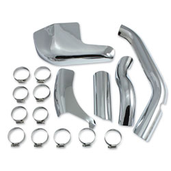 V-Twin Manufacturing Exhaust Pipe Heat Shield Set