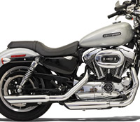 Bassani Slash Cut 3″ Slip-On Mufflers