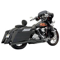 Bassani Road Rage II B1 Series 2-into-1 Black Exhaust System