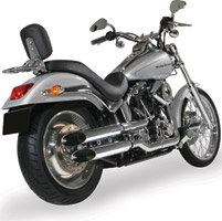 S&S Cycle Slip-On Performance Slash-Cut Mufflers