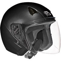 VEGA NT 200 Gloss Black Open Face Helmet