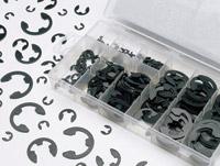 K&L Supply Co. 300 Piece S.A.E E-Clip Kit