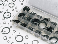 K&L Supply Co. 300 Piece S.A.E. Snap Ring Kit