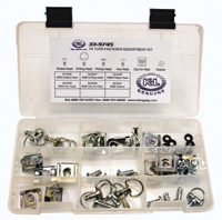 K&L Supply Co. 1/4 Turn (Quick Release) Fastener Assortment