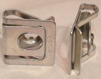 K&L Supply Co. 1/4 Turn Fastener Clip Plate
