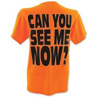Hot Leathers Biker's Against Dumb Drivers Orange T-Shirts