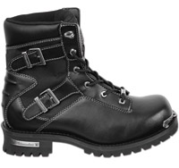 Milwaukee Motorcycle Clothing Co. Alloy Leather Boots for Men
