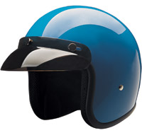HCI-10 Blue Open Face Helmet