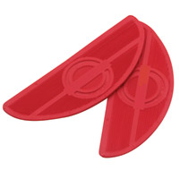 Paughco Red Replacement Floorboard Rubbers