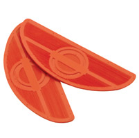 Paughco Orange Replacement Floorboard Rubbers