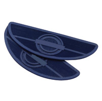 Paughco Blue Replacement Floorboard Rubbers