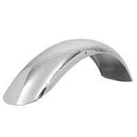 V-Twin Manufacturing Universal Sport Style Chrome Drilled Front Fender
