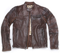 Roland Sands Design Ronin Tobacco Leather
