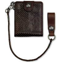 Roland Sands Design Boss Tobacco Leather Wallet