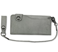 Roland Sands Design Convoy Smoke Leather Wallet