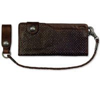 Roland Sands Design Convoy Tobacco Leather Wallet