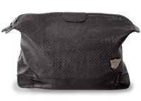Roland Sands Design Dopp Black Leather Travel Case