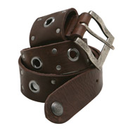 Roland Sands Design Crank Tobacco Leather Belt