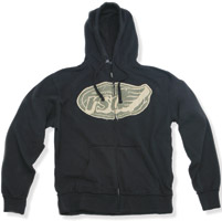 Roland Sands Design Black Flag Hoodie
