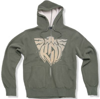 Roland Sands Design Eagle Army Green Hoodie