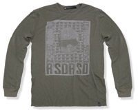 Roland Sands Design Chaingang Army Green Thermal