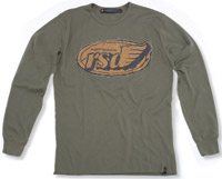 Roland Sands Design Flag Army Green Thermal
