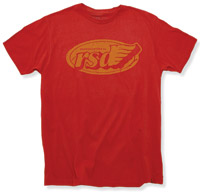 Roland Sands Design Red RSD Flag T-Shirt