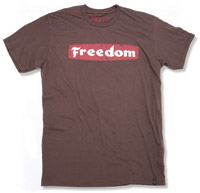 Roland Sands Design Freedom Brown T-Shirt