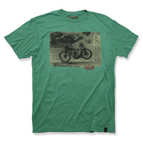 Roland Sands Design Goin' Down Green T-Shirt