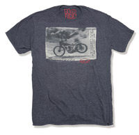 Roland Sands Design Goin' Down Charcoal T-Shirt