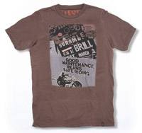 Roland Sands Design Good Maintenance Brown T-Shirt