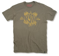 Roland Sands Design Motor Army Green T-Shirt