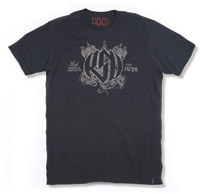 Roland Sands Design Motor Black T-Shirt