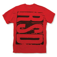 Roland Sands Design Block Red T-Shirt