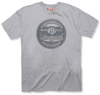 Roland Sands Design Badge Gray T-Shirt