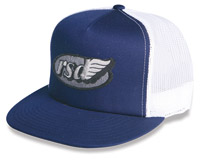 Roland Sands Design Cafe Wing Navy Trucker Hat