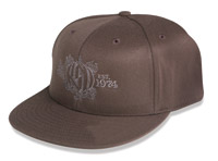 Roland Sands Design Brown Motor Hat