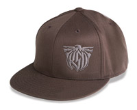 Roland Sands Design 3D Eagle Brown Hat
