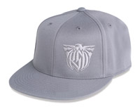 Roland Sands Design 3D Eagle Gray Hat