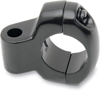 J&P Cycles® Black Mirror Clamp