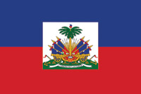 Rumbling Pride Haiti Flag