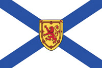 Rumbling Pride Nova Scotia Flag