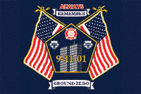 Rumbling Pride Ground Zero Flag